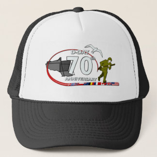70th D-Day anniversary Trucker Hat