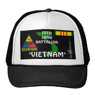 70TH Tank Battalion Vietnam Veteran Ball Caps Cap