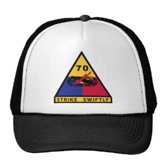 70th Tank Image Trucker Hat