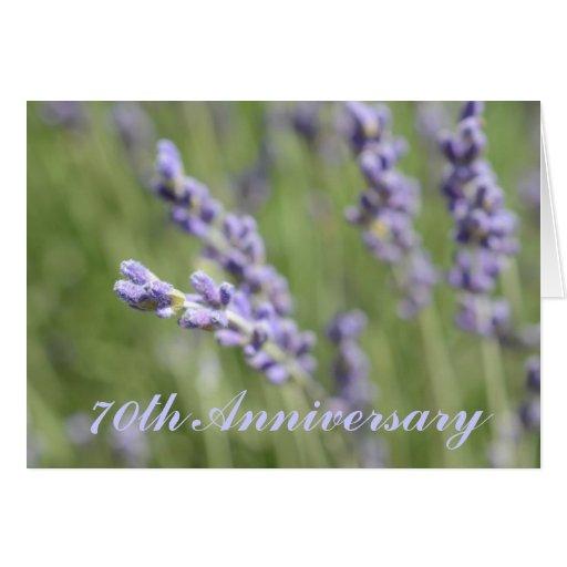 70th Wedding Anniversary Greeting Card