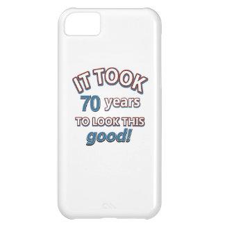70th year birthday designs iPhone 5C case