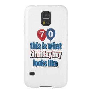 70th year old birthday designs galaxy s5 cases