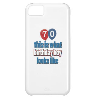 70th year old birthday designs cover for iPhone 5C