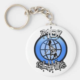 7107 Islands Philippines Key Ring
