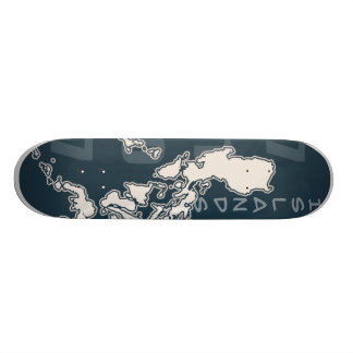 7107 Philippine Islands (Skateboard) Skateboard Decks