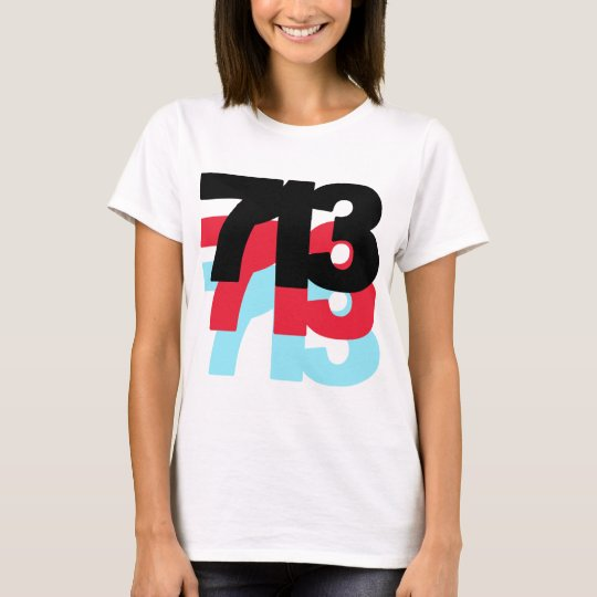 713 Area Code T-Shirt