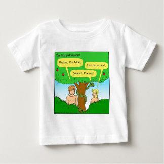 715 adam and eve palindromes cartoon tee shirts