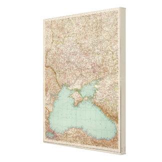 7172 Ukraine, Black Sea Canvas Print