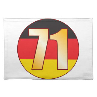 71 GERMANY Gold Placemat