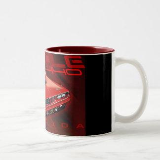 71Cuda11x17-new Two-Tone Mug