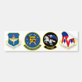 71st Squadron Logos Bumper Sticker