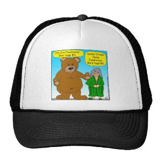 725 Bear bare fundraiser cartoon Cap