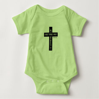 72marketing Cross Religious Baby Outfit Jesus Baby Bodysuit