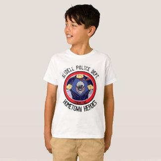 72marketing Hometown Heroes Circle Slidell Police T-Shirt