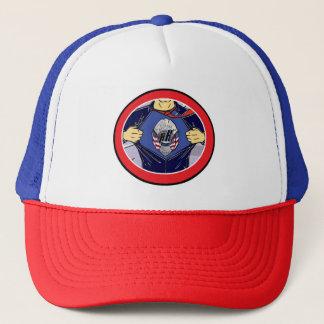 72marketing Hometown Heroes Trucker Hat Police