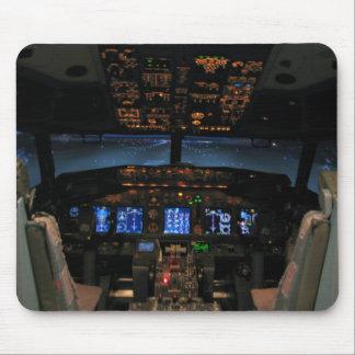 737 cockpit mouse mat