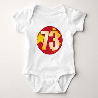 73 CHINA Gold Baby Bodysuit