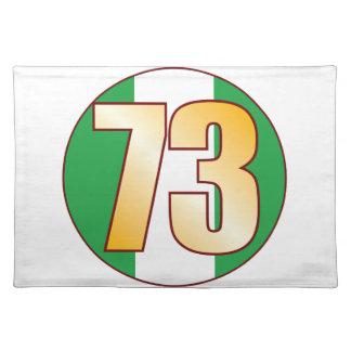 73 NIGERIA Gold Placemat