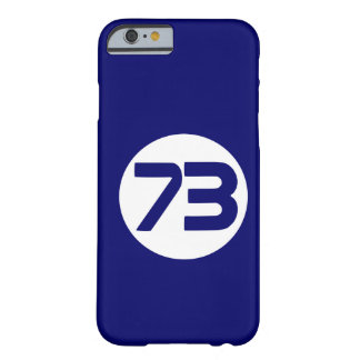 73 the best number Big Bang Barely There iPhone 6 Case