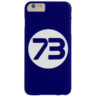 73 the best number Big Bang Barely There iPhone 6 Plus Case