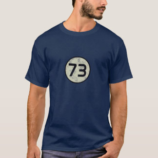 73 - The best number T-Shirt