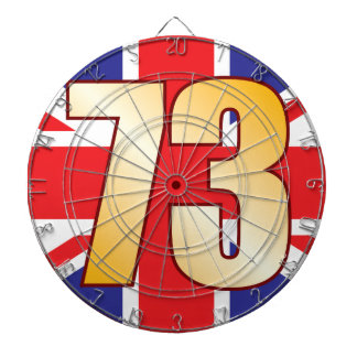 73 UK Gold Dartboard