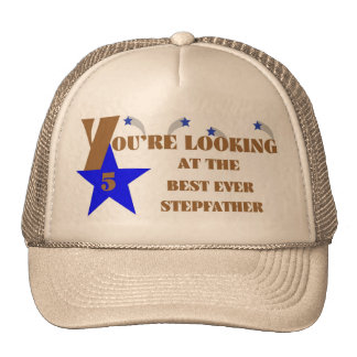 73Best Ever 5-Star Stepfather Mesh Hat
