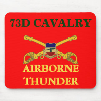 73RD CAVALRY AIRBORNE THUNDER MOUSEPAD