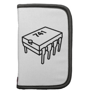 741 Op-Amp Chip (for Electronics Engineers) Folio Planner