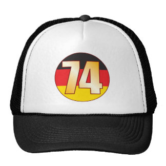 74 GERMANY Gold Cap