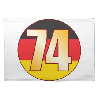 74 GERMANY Gold Placemat
