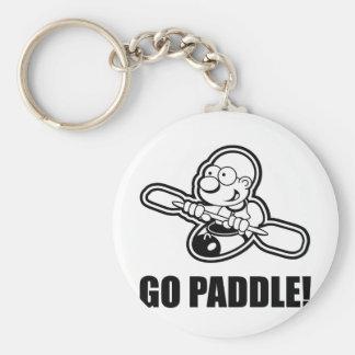 74_go_paddle basic round button key ring