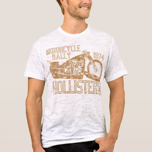 '74 Motorcycle Rally (vintage gold) T-Shirt