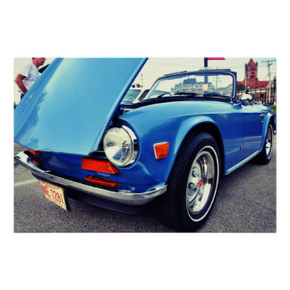 '74 TR6 POSTER