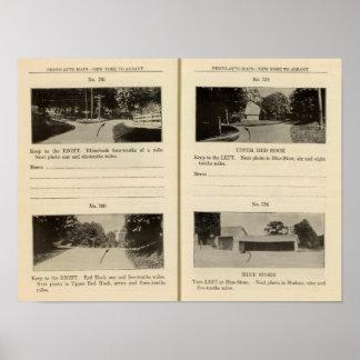 75861 Rhinebeck Upper Red Hook Blue Store Print