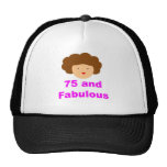 75 and fabulous hats