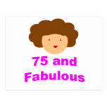75 and fabulous postcards