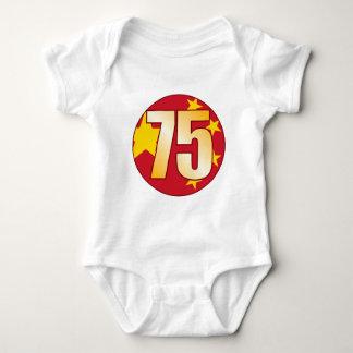 75 CHINA Gold Baby Bodysuit
