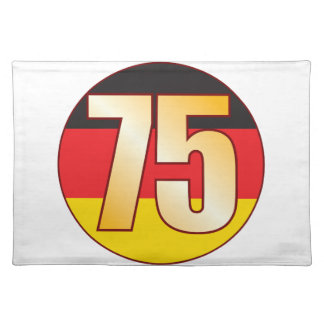 75 GERMANY Gold Placemat