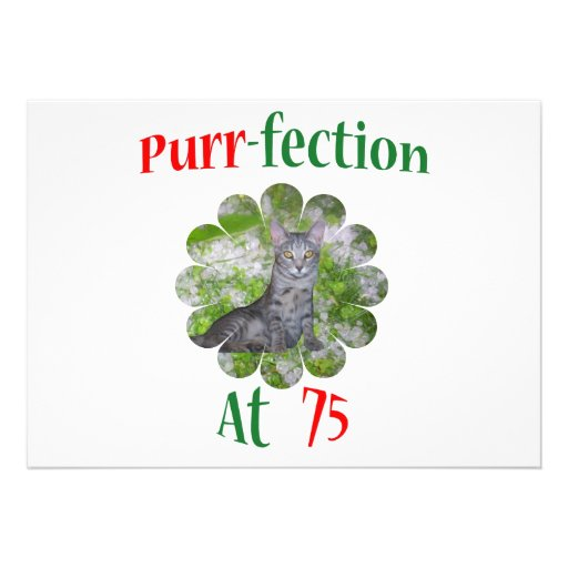 75 Purr-fection Personalized Invitations