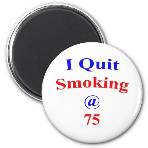 75  Quit Smoking Refrigerator Magnets