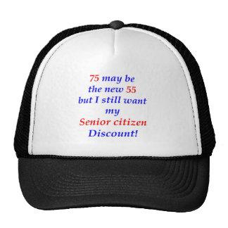 75 Senior Citizen Hat