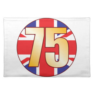 75 UK Gold Placemat