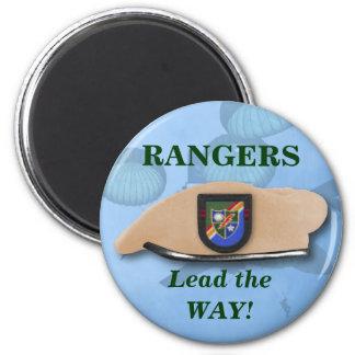 75th airborne rangers war veterans vets magnet