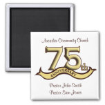 75th Anniversary Party Favours Magnets