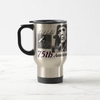 75th anniversary stainless steel travel mug