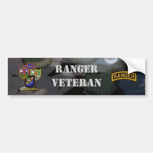 75th army airborne ranger son vets bumper sticker