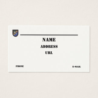 294 Army Business Cards And Army Business Card Templates