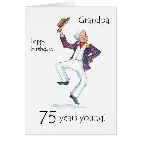 75 Birthday Greeting Cards – 75th Birthday Card