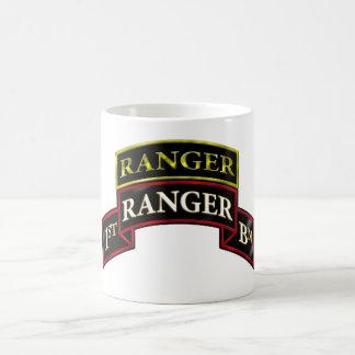 75th Ranger 1st Battalion w/Tab Coffee Mugs